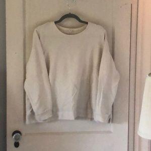 Eileen Fisher 2x cropped sweatshirt.
